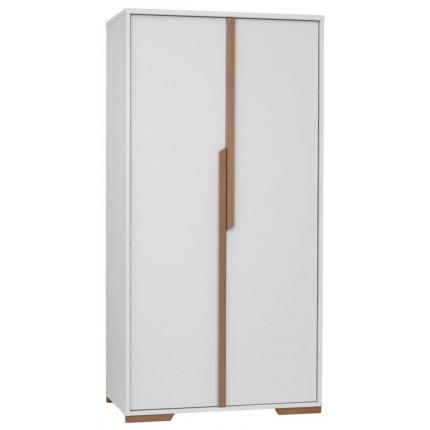 Szafa 2-drzwiowa do pokoju dziecięcego, z kolekcji Snap PINIO MHS5-7