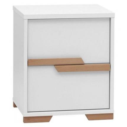Kontener do biurka z kolekcji Snap, 2-szufladowy PINIO MHS3-28