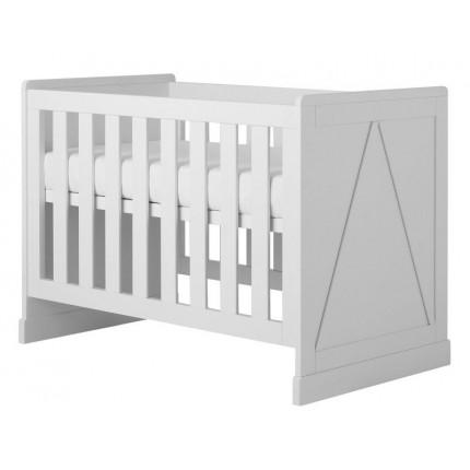 Łóżeczko Marie do pokoju dziecięcego 120×60 cm PINIO MHB3-13