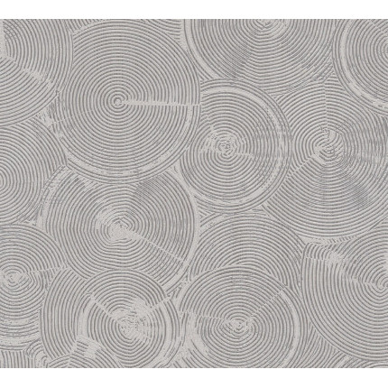 Tapeta srebrne koła MHT0-120
