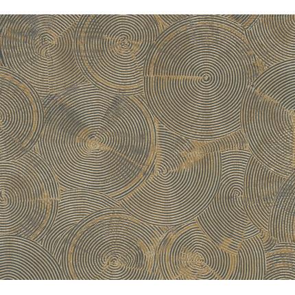 Tapeta złote koła MHT0-121