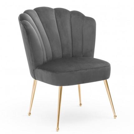 Krzesło muszelka glamour MHK0-22