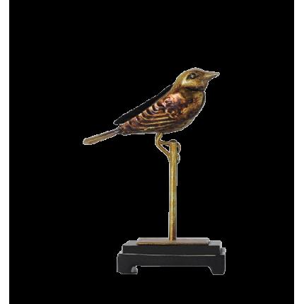 Figurka złoty ptak na stojaku MHD0-03-41