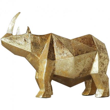 Figurka mały złoty nosorożec MHD0-03-39
