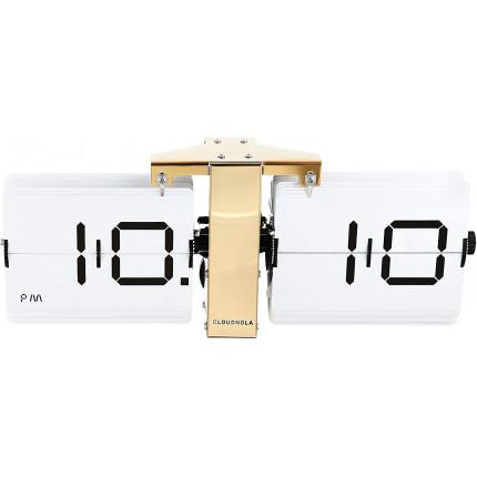 Zegar klapkowy biały Cloudnola MHD0-08-12
