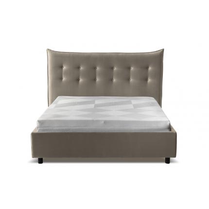 Eleganckie łóżko tapicerowane 160x200 cm MHB 140