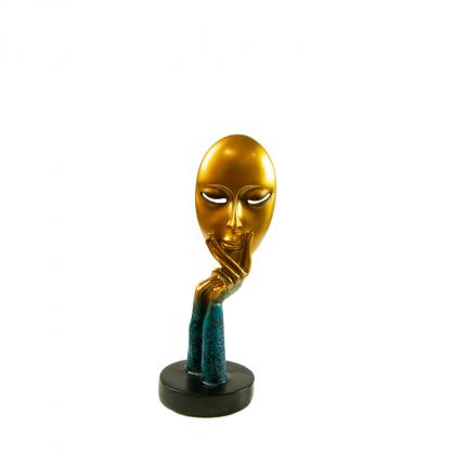 Rzeźba ozdobna twarz myśliciela MHD0-03-57