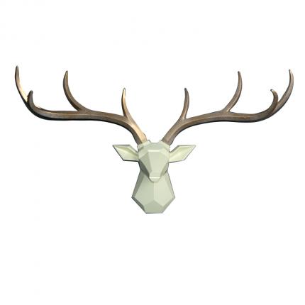 Ozdoba ścienna jeleń MHD0-09-55
