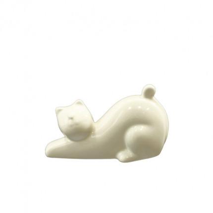 Ozdoba kot porcelanowy mały MHD0-09-11
