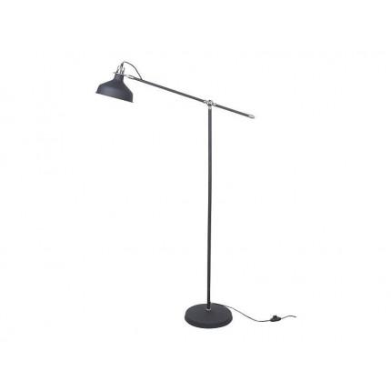 Czarna lampa podłogowa MHL0-17