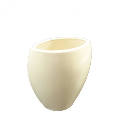 Porcelanowy owalny wazon MHD0-01-04