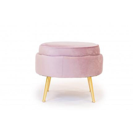 Podnóżek glamour różowy MUSZELKA MHT 051
