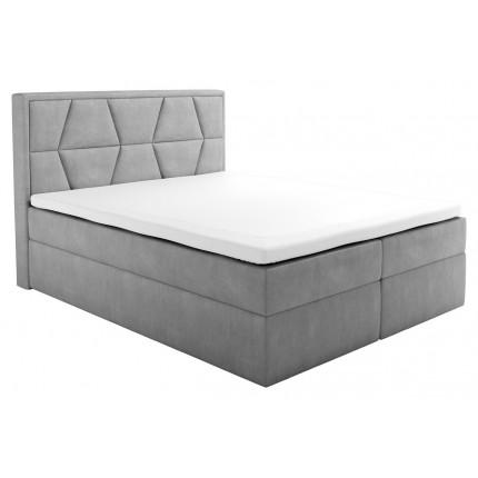 Nowoczesne łóżko kontynentalne 160x200 cm MHB 107