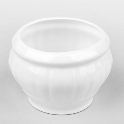Biała osłonka ceramiczna okrągła MHD0-02-187