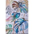 Ręcznie malowany obraz na płótnie – MONSTERA MHD0-10-19