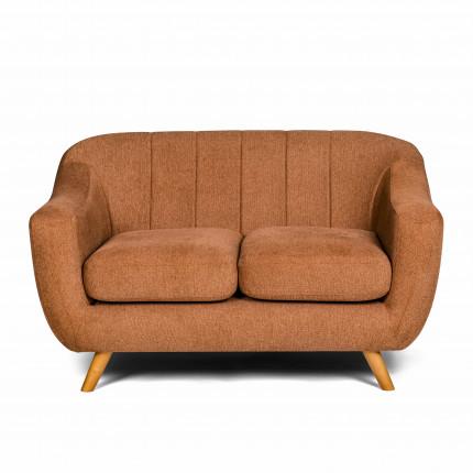 Sofa w stylu skandynawskim pomarańczowa MHT 206