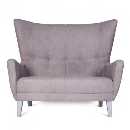 Beżowa dwuosobowa sofa od ręki MHT 247