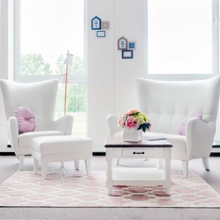 Szykowna biała sofa od ręki MHT 247