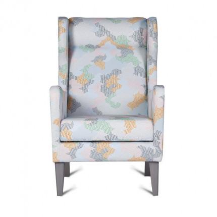 Oryginalny fotel od ręki z wygodnym zagłówkiem MHT 160