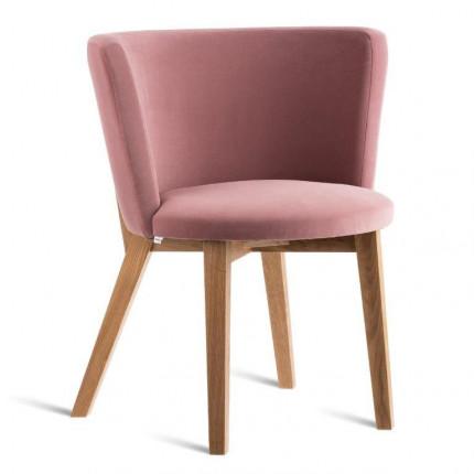 Nowoczesne różowe krzesło w stylu skandynawskim SMHK0-24