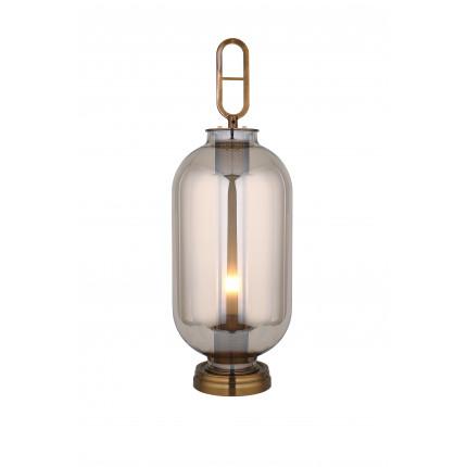 Lampa stołowa lustrzana srebrna MHL0-38