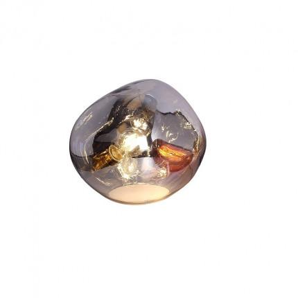 Lampa stołowa srebrna kropla MHL0-44