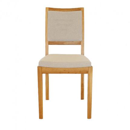Drewniane krzesło dębowe do jadalni lub salonu MHK0-14