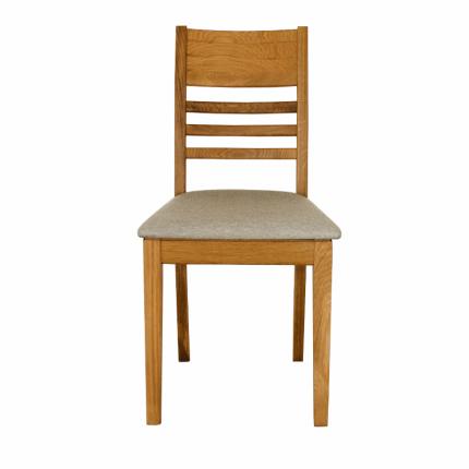 Drewniane krzesło dębowe do jadalni lub salonu MHK0-08