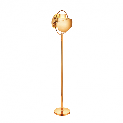 Lampa podłogowa złota glamour MHL0-48