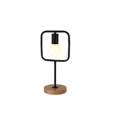 Lampa stołowa loftowa kwadrat MHL0-56