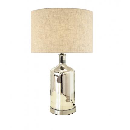 Lampa stołowa lustrzana srebrna MHL0-83