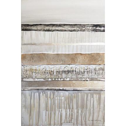 Ręcznie malowany obraz na płótnie – ZŁOTE PASY MHD0-10-26