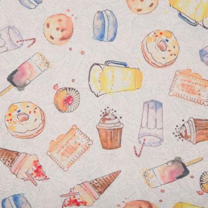 Tkanina LAJWA 1 - słodycze