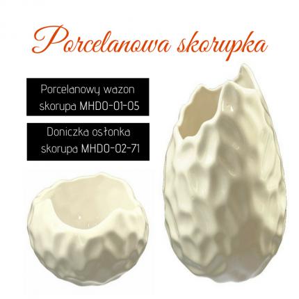 Zestaw wazon i osłonka skorupa MHZ1-3