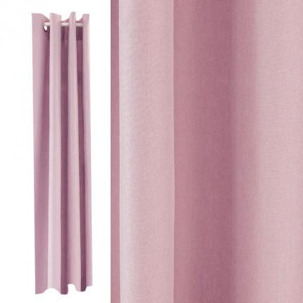 Zasłona INIVÈSÈL jasnoróżowa 137 x 260cm MHA0-02-28