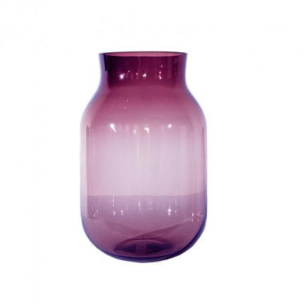 Ręcznie robiony fioletowy szklany wazon MHD0-01-15