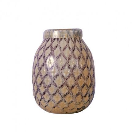 Ręcznie robiony szklany wazon ananas MHD0-01-22