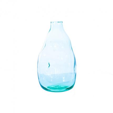 Ręcznie robiony szklany wazon w nieregularnym kształcie MHD0-01-0023