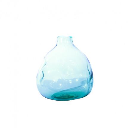 Ręcznie robiony szklany wazon w nieregularnym kształcie MHD0-01-24