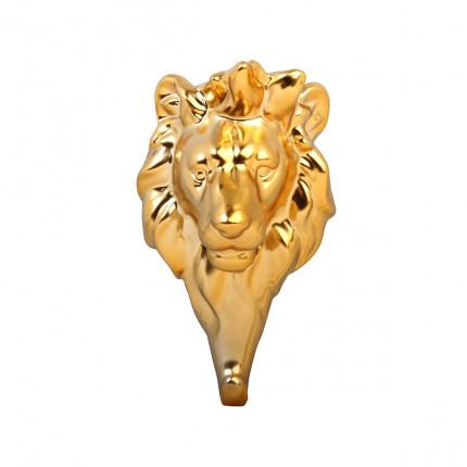 Porcelanowy złoty wieszak LEW MHW0-14