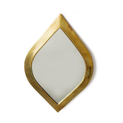 Lustro oko w złotej ramie MHD0-07-05