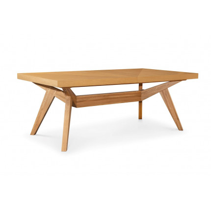 Stół rozkładany z okleiną z naturalnego dębu MHS1-10