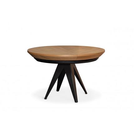 Rozkładany okrągły nowoczesny stół MHS1-15