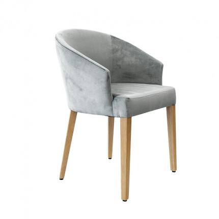 Tapicerowane krzesło z podłokietnikami MHK0-66