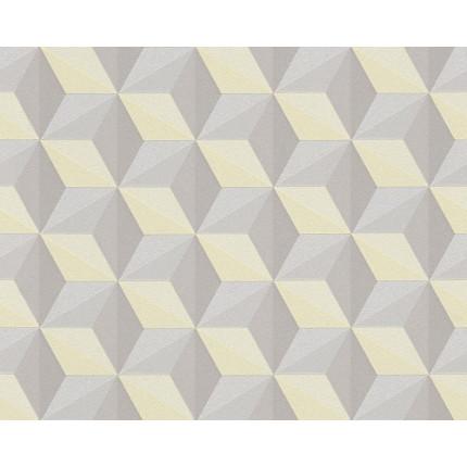 Tapeta w trójwymiarowe kwadraty MHT0-47