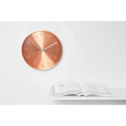 Zegar ścienny miedziany Cloudnola MHD0-08-09