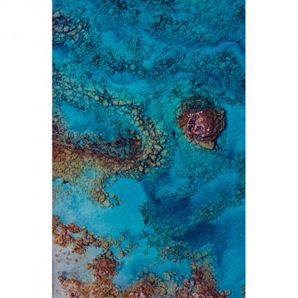 Obraz drukowany na płótnie laguna MHD0-02-03
