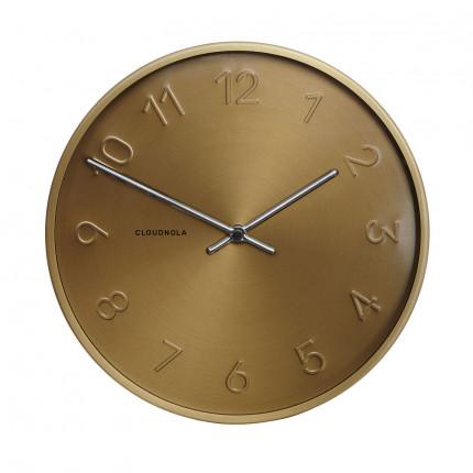 Zegar ścienny złoty Cloudnola MHD0-08-10