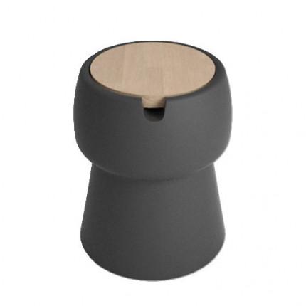 Stolik kawowy i stołek ze schowkiem 2 w 1 Champ JokJor