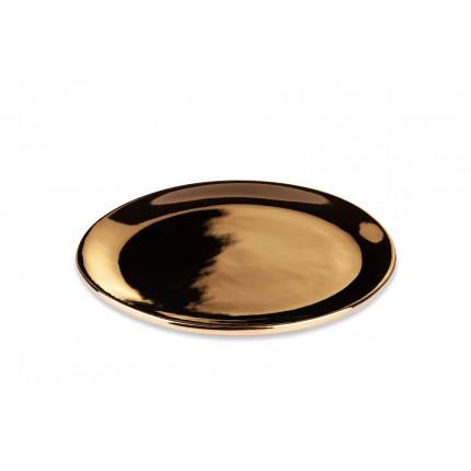 Złoty mały talerz UNC
